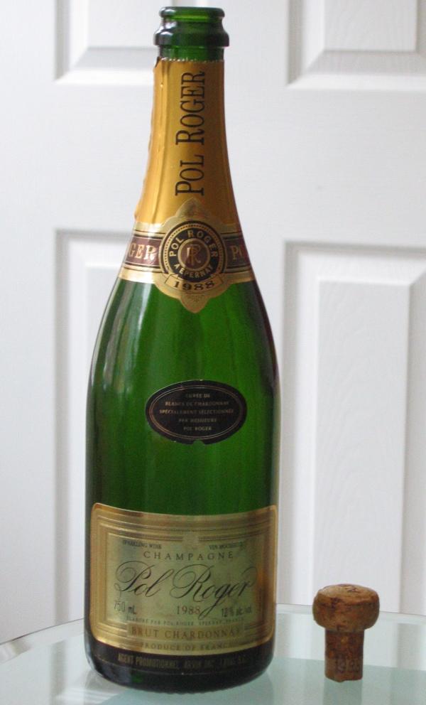 Champagne Pol Roger 1988